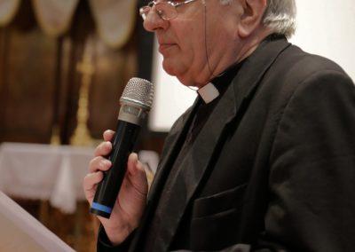Mons. Mario Piccinelli, rettore del Santuario