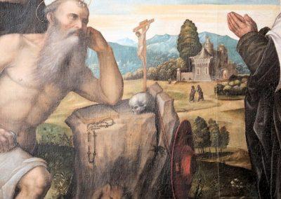 Particolare di S. Girolamo