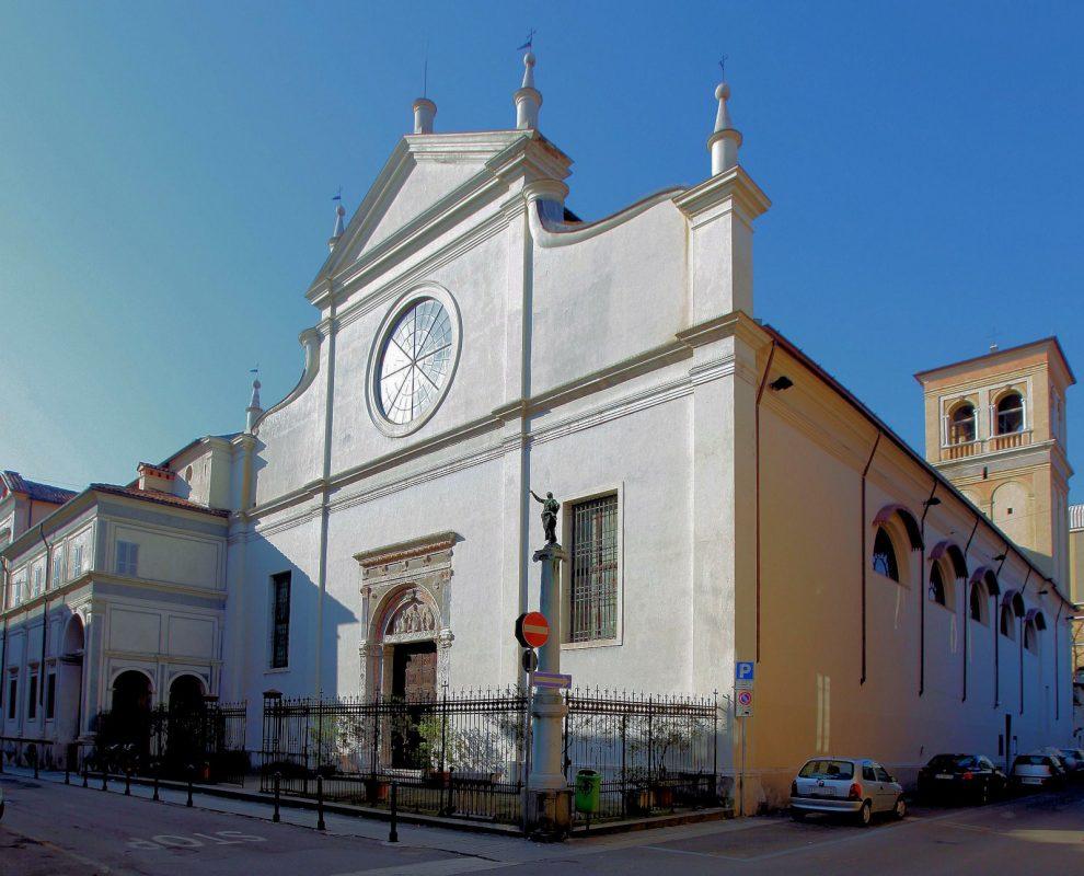 Santuario Basilica Santa Maria delle Grazie Brescia - Facciata