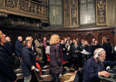 Il Coro S. Luca, diretto da Rosa Tomasini, che ha animato la celebrazione