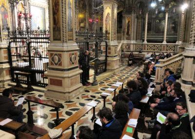 In ascolto della riflessione di don Mauro Assoni