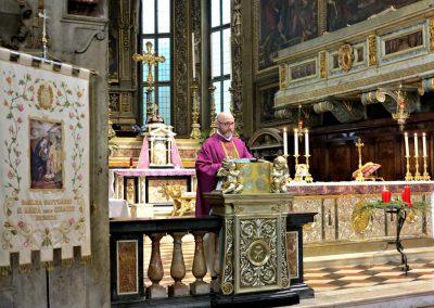 don Roberto Ferazzoli, assistente spirituale del Movimento Apostolico Ciechi