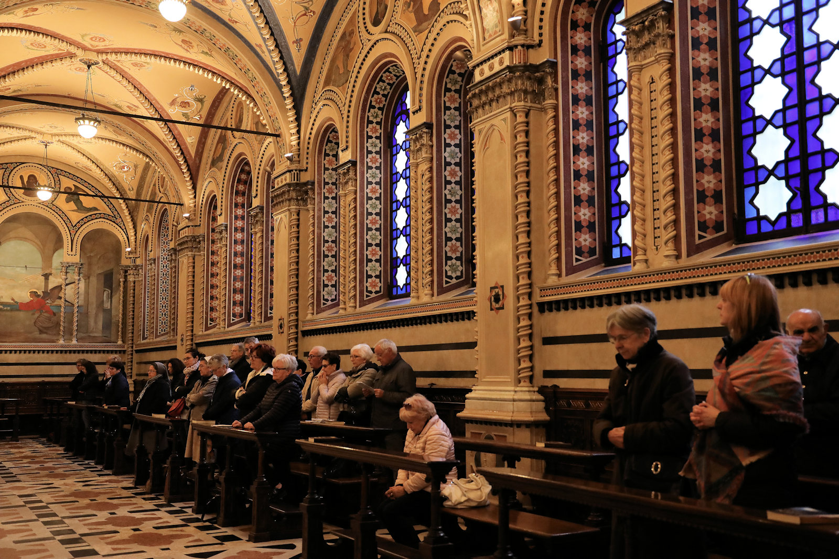Santuario Basilica Santa Maria delle Grazie Brescia - Interno della Basilica