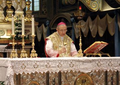 S. Messa celebrata da S.E. Mons. Vigilio Mario Olmi, Vescovo ausiliare emerito