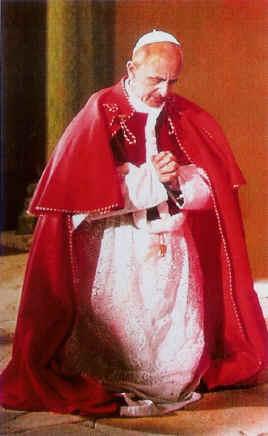 Intercessione del Beato Papa Paolo VI