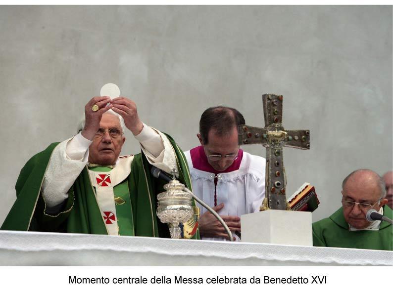 Visita di Benedetto XVI a Brescia a ricordo di Paolo VI - 2009