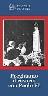Copertina sussidio: Preghiamo il rosario con Paolo VI