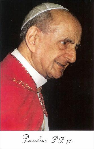 Beato Papa Paolo VI Abbandono in Dio nelle difficoltà