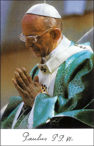 Beato Papa Paolo VI Per ottenere il dono della fede