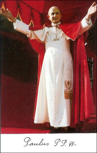 Beato Papa Paolo VI Per la Pace
