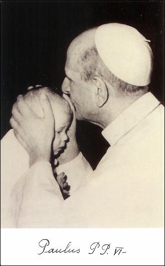 Beato Papa Paolo VI Ritornate bambini