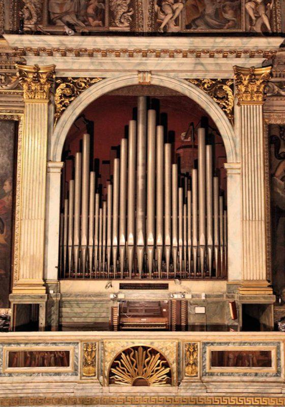 Organo Serassi: Facciata