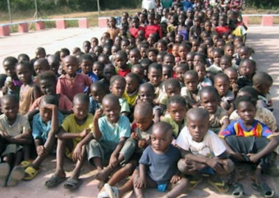 "I bambini di Sobanet ospiti della ""Maison des Enfants"""