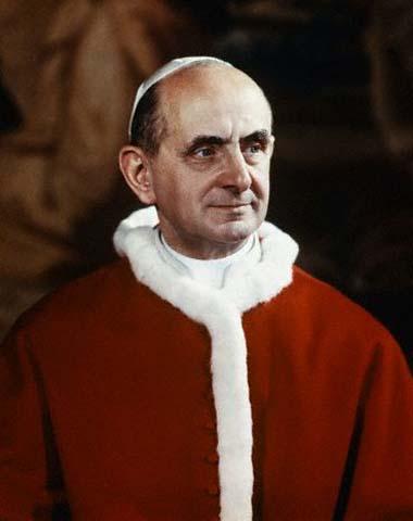 Calendario delle celebrazioni in memoria del Beato Papa Paolo VI